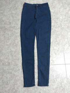 F21 blue jeans