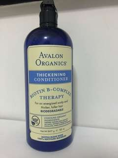 Avalon Organics Thickening Conditioner
