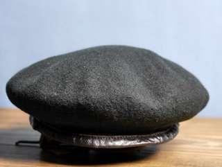 英國品牌 Kangol Wear Limited 黑色 畫家帽 小偷帽 貝雷帽 new york hat
