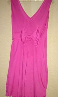 Dress pink preloved