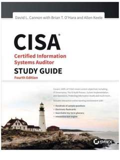 CISA study guide 4th edition paperback