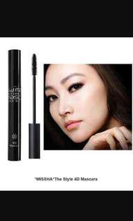 BNIP Missha The Style Mascara 4D