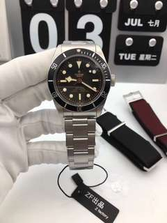 Tudor Heritage Black Bay 79230N Black bezel Stainless Steel Case on Stainless Steel Bracelet