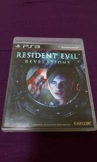 RESIDENCE EVIL REVELATIONS (PS3)