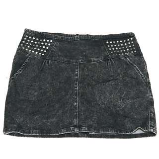 Zara Studded Mini Skirt