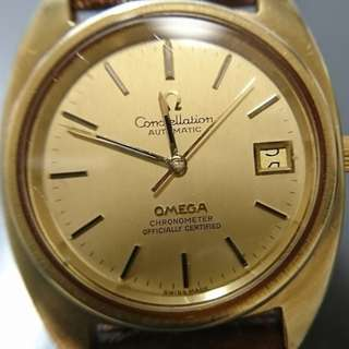 Omega Constellation chronometer自動日曆天文台錶