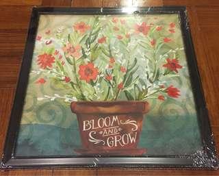 Bloom and Grow Wall Art