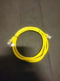 Lan Cable : Cat6, 1.7m, thick heavy