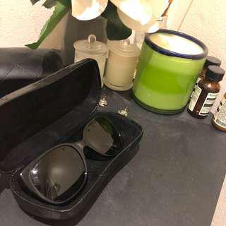 Authentic Chanel Tweed Sunglasses