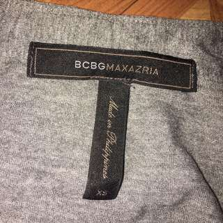 BCBG Gray Long Sleeves XS