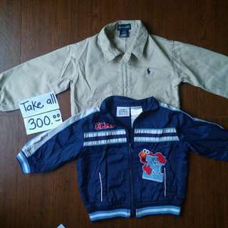 Branded Jackets For Kids/babies (Polo N Elmo)