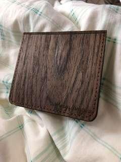 Wood wallet 木製銀包