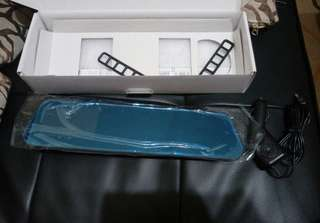 全新後視鏡行車記錄器