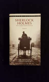 Sherlock Holmes ~ The Complete Novels and Stories (Vol. 2)