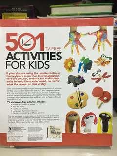 501 activities for kids