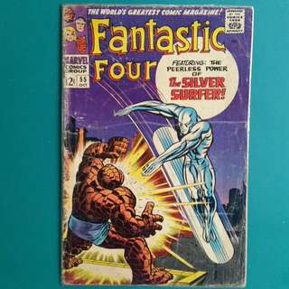 Fantastic Four No.55 comic