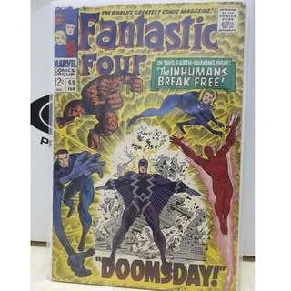 🚚 Fantastic Four Vol. 1 #59 - Doomsday