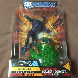 DC Universe Classics Wildcat Wild Cat JSA Variant