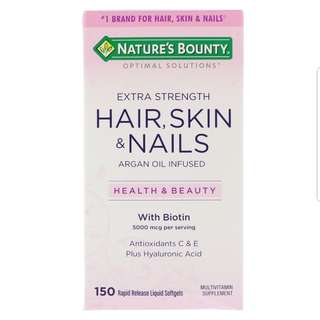 ❤ Nature's Bounty, Extra Strength Hair, Skin & Nails, 150 Softgels