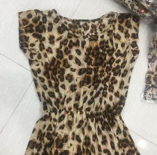 2 for $8 leopard Print Dress