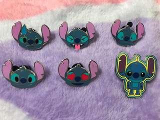 迪士尼史迪仔徽章stitch pin