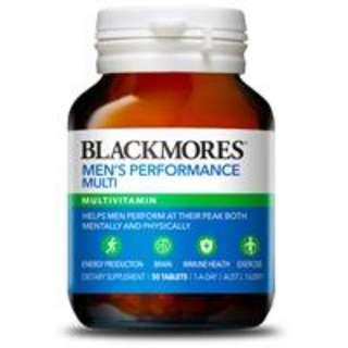 Blackmores 澳佳寶男士活力綜合營養素50片 複合維生素