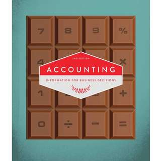Accounting Information for Business Decisions 2nd Second Edition by B. M. Cunningham, L. A. Nikolai, J. D. Bazley, M. Kavanagh, G. Slaughter, S. Simmons - Cengage Learning
