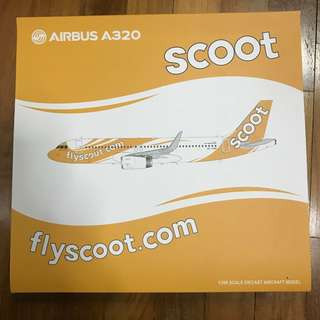 1/200 JC Wings Scoot Airbus A320-200