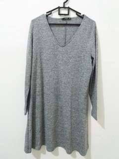 Mango grey dress