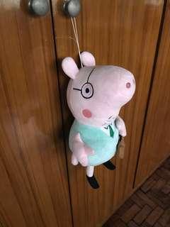 Papa pig in Peppa Pig