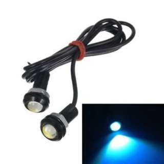 Eagle Eye 1 LED DRL for Car and Bike 18 MM ICE BLUE Color
