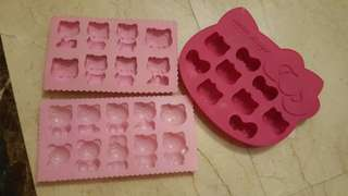 Hello Kitty Resin Molds