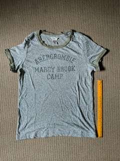 Abercrombie green tee shirt
