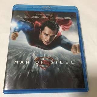 Man of Steel Blu Ray