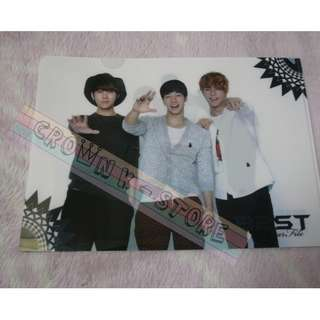 [CRAZY DEAL 90% OFF FROM ORIGINAL PRICE][READY STOCK]BEAST B2ST KOREA OFFICIAL A4 SIZE FILE 1PC!ORIGINAL FR KOREA (PRICE NOT INCLUDE POSTAGE)PLEASE READ DETAILS FOR MORE INFO; POSLAJU:PENINSULAR AREA :RM10/SABAH SARAWAK AREA: RM15