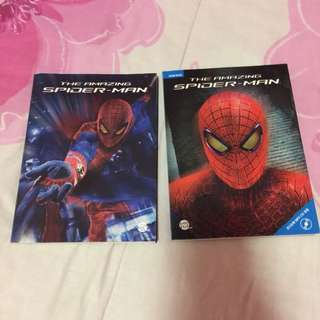 The Amazing Spidermand Storybook and Workbook