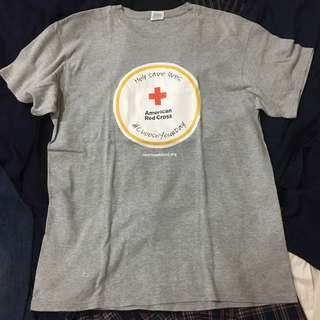 VINTAGE RED CROSS SHIRT