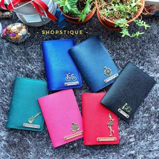 Personalised Passport Holder,  Customised Passport Cover