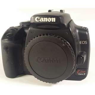 Canon EOS 400D 背帶 充電器 電池2個 CF記憶卡 (CB070)