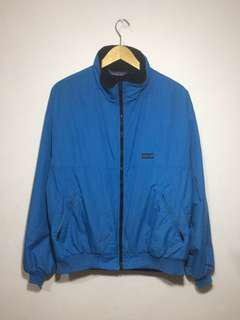 Patagonia Used Patagonia, Nylon Fleece Bomber Jacket