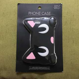 Brand New Forever 21 Black Cats Eye Rubber ip6/6s/7  Case
