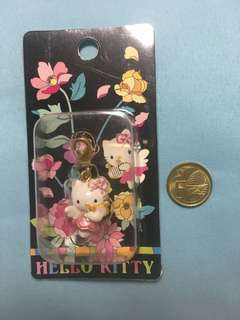 Authentic Hello Kitty mini charm with hook
