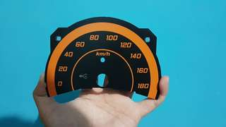 Speedometer custom Honda Brio 2012-2015