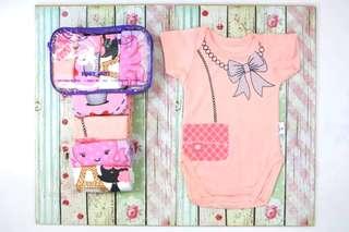 4pcs Baby Romper Bodysuit