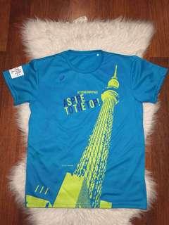 Tokyo Marathon Running T-shirt 2015 by Asics