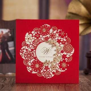 Wedding invitation card printing
