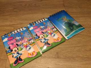 🚚 Mickey and Minnie Mouse Notepad