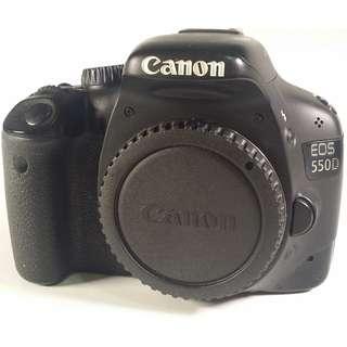 Canon EOS 550D  背帶 充電器  充電線材  原電*1 (CB072)