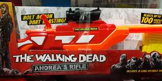 Air Warriors The Walking Dead Andrea's Rifle not Nerf