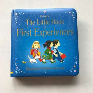 Usborne Little Book Of First Experiences (Hard Cover)